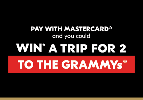 You could WIN* a trip to the GRAMMYs