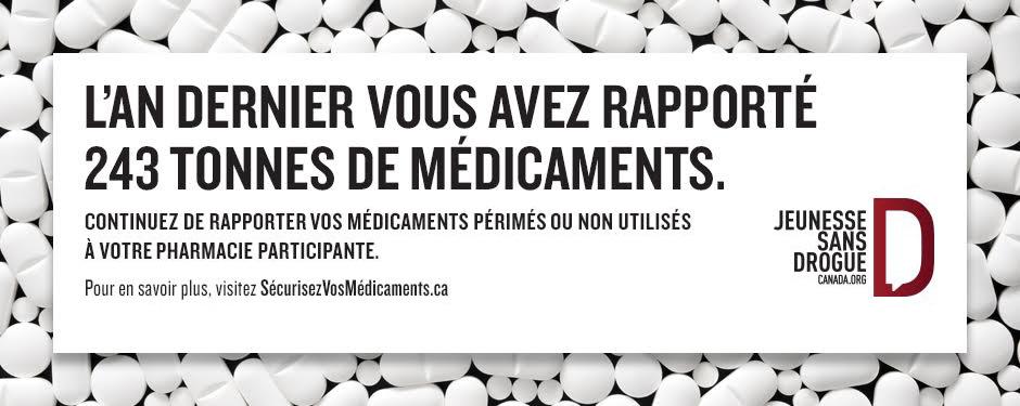 Gardez vos médicaments entre bonnes mains