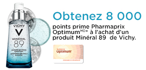 Obtenez 8 000 points prime Pharmaprix Optimum