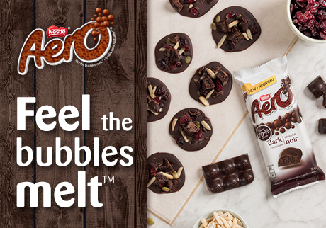 Feel the Bubbles Melt with AERO!