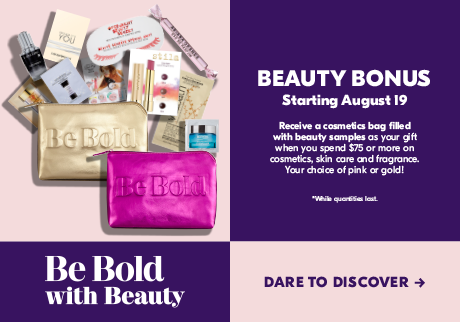 Be Bold with Beauty Bonus