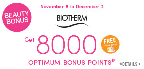 Get 8000 Pharmaprix Optimum Bonus Points