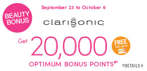 Get 20,000 Shoppers Optimum Bonus Points