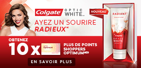 Obtenez 10 x plus de points Shoppers Optimum