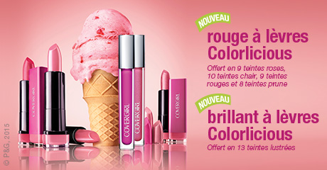 Nouvelle collection Colorlicious