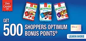 Get 500 Shoppers Optimum bonus points