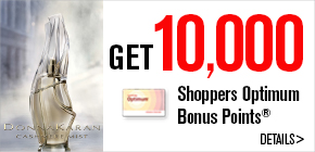 Get 10,000 Shoppers Optimum Bonus Points