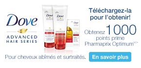 Obtenez 1 000 points prime Pharmaprix Optimum