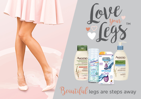Beautiful legs are steps away