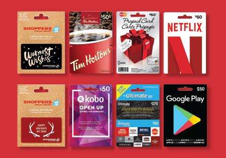 Gift Cards | Shoppers Drug Mart
