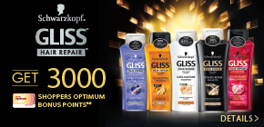 Get 3000 Shoppers Optimum Bonus Points