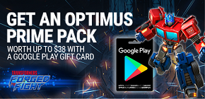 Get an Optimus Prime pack