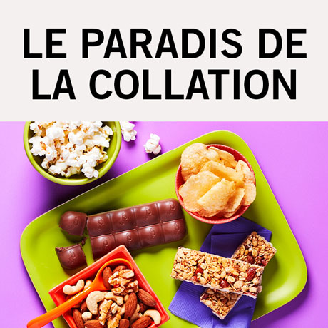 Le paradis de la collation