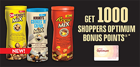 Get 1,000 Shoppers Optimum Bonus Points^^®^^