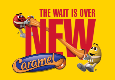 NEW M&M'S® CARAMEL IS HERE!