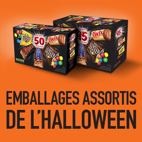 Emballages assortis de l'halloween