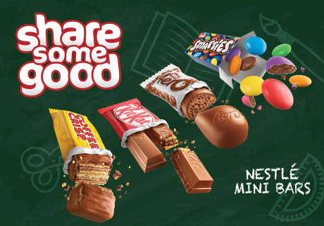 Share Some Good with Nestle Minis!