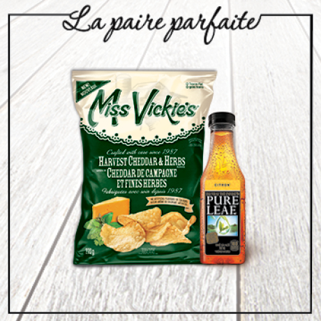 Miss Vickie's et Pure Leaf