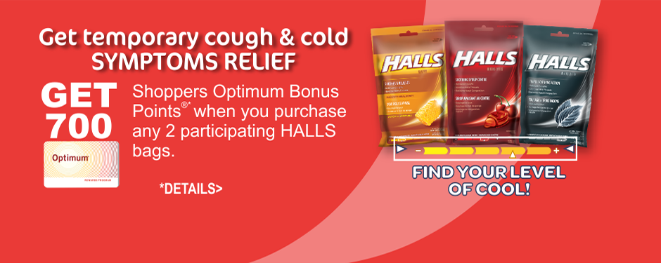 Discover HALLS COOLING FLAVOUR METER