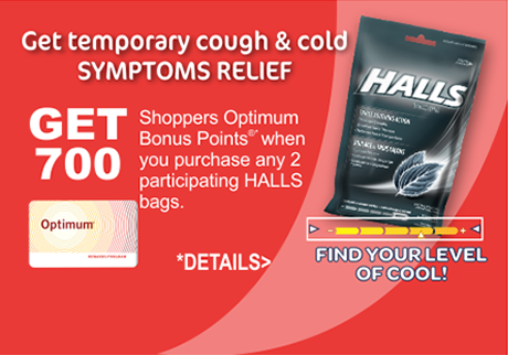 Get temporary relief of sore throat