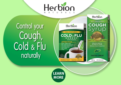 Control your cough, cold & flu naturally