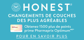 Obtenez 1 500 plus de points prime Pharmaprix Optimumᴹᴰ*