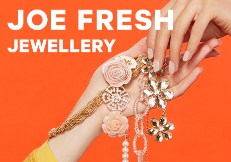 Just arrived. Discover our exciting new collection of Joe Fresh Jewelry now available at Shoppers Drug Mart.
