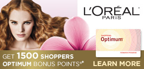 Get 1500 Shoppers Optimum Bonus Points