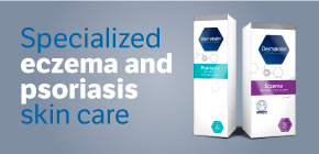 Specialized eczema and psoriasis skin care