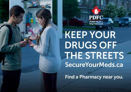 Together, we can help keep prescription drugs in the right hands.