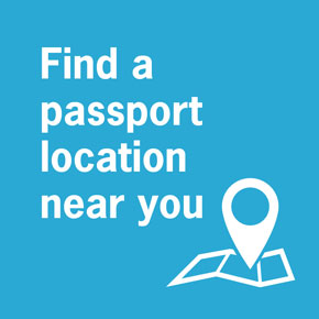 Get passport photos on-the spot!