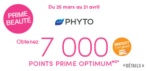 Obtenez 7 000 points prime Pharmaprix