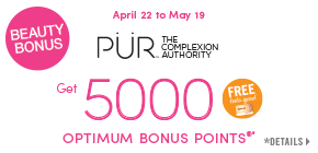 Get 5000 Shoppers Optimum Bonus Points