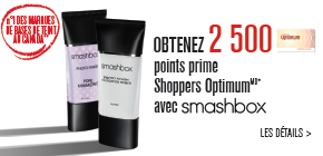 Obtenez 2 500 points prime Shoppers Optimum