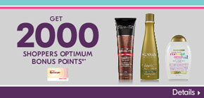 Get 2000 Shoppers Optimum Bonus Points®*