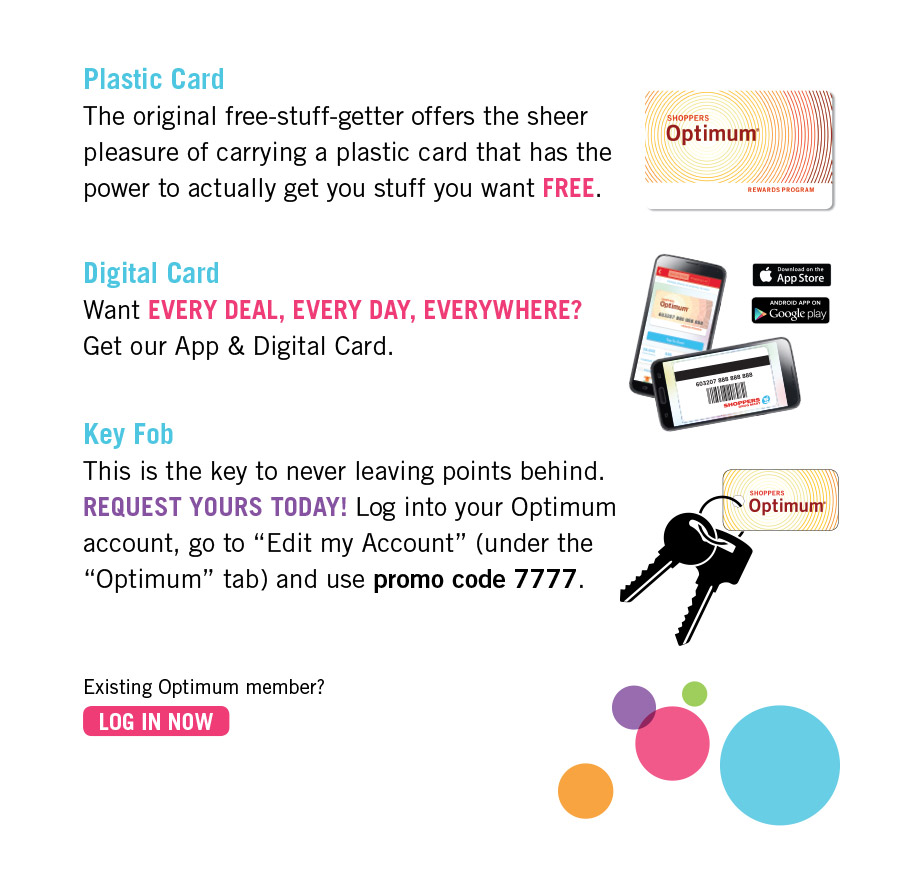 """Shoppers Optimum and PC Plus are now the PC Optimum program. One card. One App. All your points in one place. """"This is exciting, but what about my points?"""" Your Shoppers Optimum points have been converted to PC Optimum points at their FULL VALUE."""