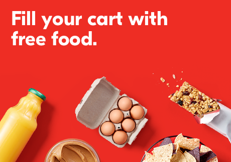 Fill your cart with free food.
