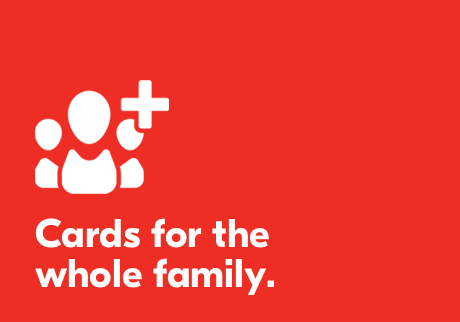 Cards for the whole family.