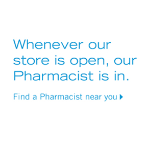 Find a Pharmacist near ypu