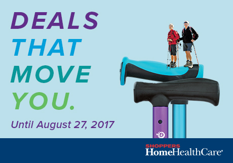 Deals That Move You. Until August 27, 2017