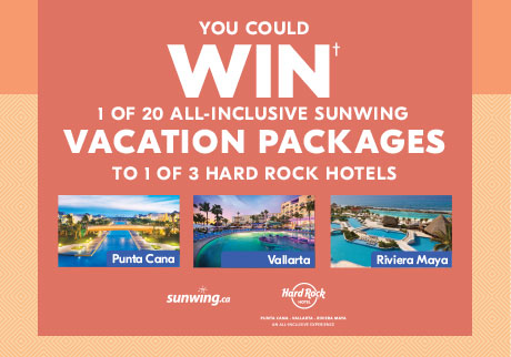 WIN an all-inclusive vacation