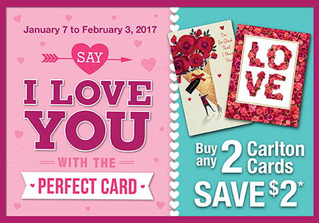 "Say ""I Love You"" with the perfect card"